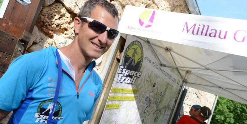 Thomas Saint Girons - Parrain de l'Espace Trail
