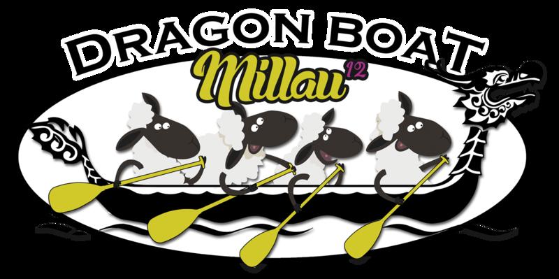 Logo des Dragon Boat de Millau
