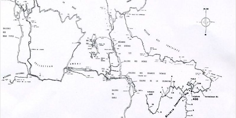 Exemple de topo Spéléo