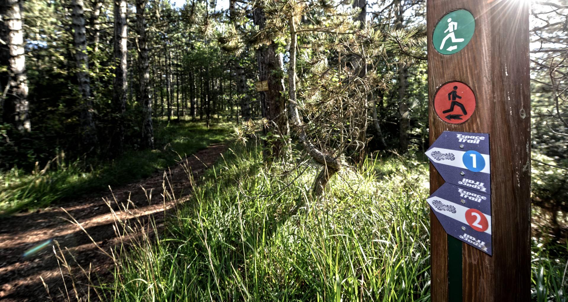 espace trail Millau