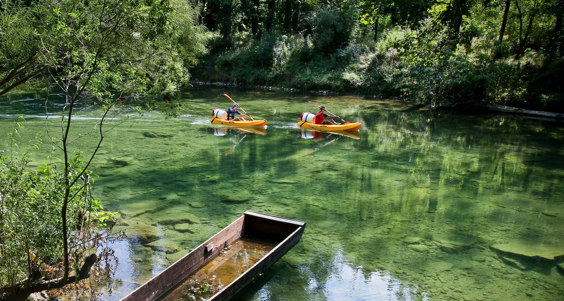 kayak eaux vives Millau