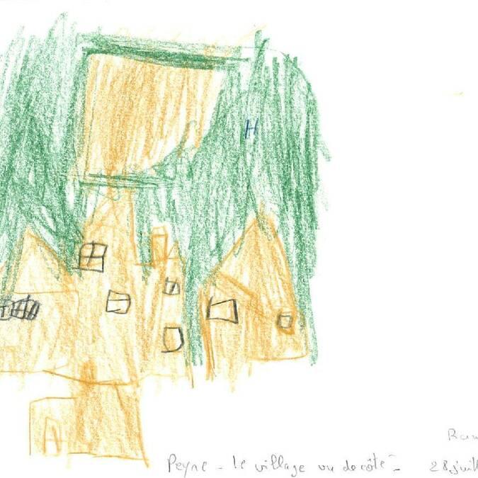 Rando Croquis concours Peyre dessin peinture
